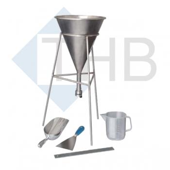 Gerät zur Bestimmung der Schüttdichte von Zement