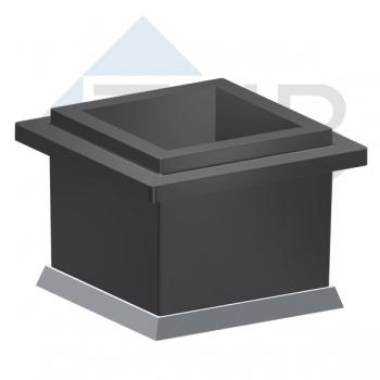 Würfelform Kunststoff C 150 GW Gussboden