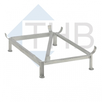 Stahlfußgestell f. Wasserbecken 550/700 l