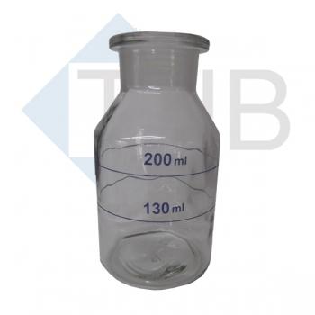 Weithalsflasche/Natron-laugeglas ohne Stopfen 250 ml