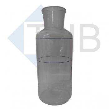 Weithalsflasche 450 ml ohne Stopfen