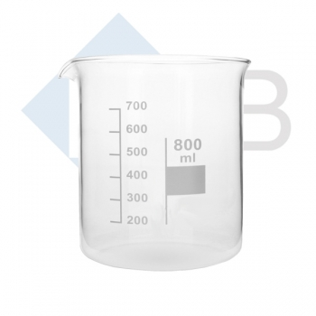 Becherglas 400 ml niedrige Form