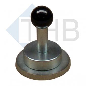 Ausgleichsplatte Ø 100 mm mit Magnetheber