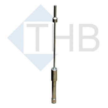 Proctorhammer Ø 50 mm DIN 18127 / 4,5kg Höhe 450