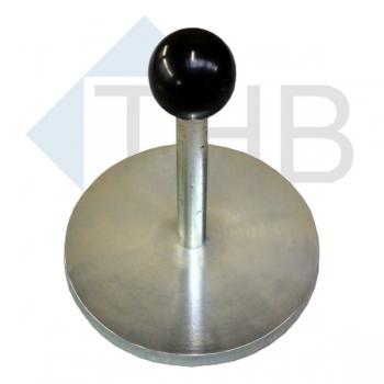 Ausgleichsplatte Ø 150 mm