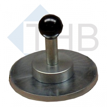 Ausgleichsplatte Ø 150 mm mit Magnetheber