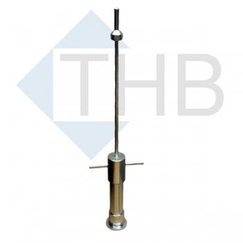 Proctorhammer Ø 125 mm DIN 18127/EN 13286-2 / 15kg Höhe 600