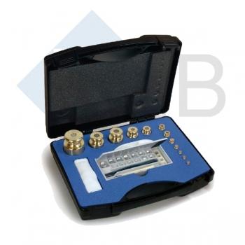 Gewichtsatz Messing M1 1g-200 g