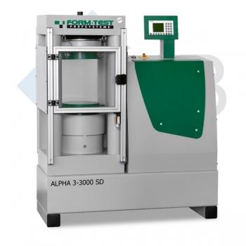 Druckprüfmaschine Type ALPHA 3-3000 SD