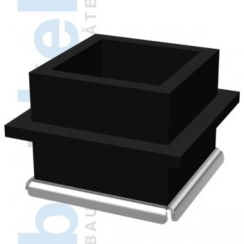 Würfelform Kunststoff EF 150 GW mit Edelstahlboden/Gewinde