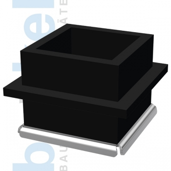 Würfelform Kunststoff EF 150 Edelstahlboden