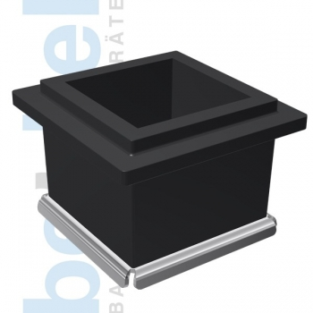 Würfelform Kunststoff C 150 Edelstahlboden