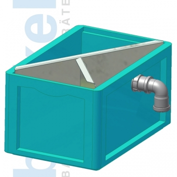 Schlammfangbehälter 600x400x420