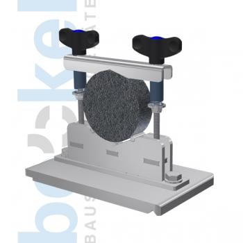 Spannvorrichtung f. Zylinder Asphalt Ø100 mm 30-50mm