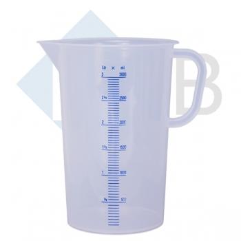 Meßbecher Kunststoff 3000 ml