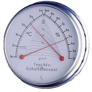Temperatur-Feuchtegehalts-Messer